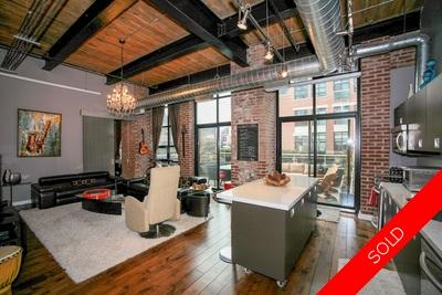 Liberty Village Loft: The Toy Factory 1 Bed + Den